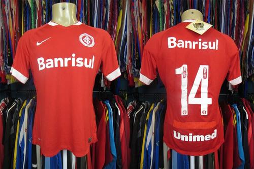 Internacional 2014 Camisa Titular Tamanho G Número 14 a2152f1d027f4
