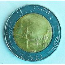 Moeda L.500 Lira Italiana 1988