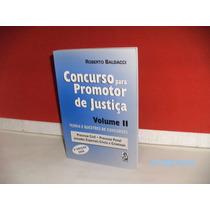 Livro Concurso P/ Promotor De Justiça Vol.2 3ªedç- Equipe Fj