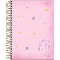 Caderno Univer.o Pequeno Principe Plus 10x1 200 Fls - Rosa