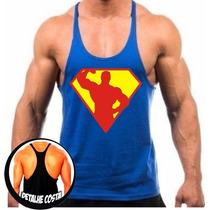 Regata Cavada Musculação Academia Super Corpo Oferta 20% Off