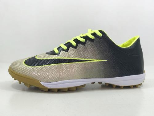 9cd23a37203a4 Chuteira Society Infantil E Adulto Nike Mercurial - Top - R  69 en ...