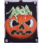 Decoração Festa Halloween Quadro Painel Aranha Abóbora 3d !!