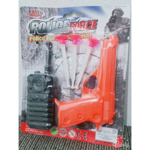 Arma Pistola Policia Dardos