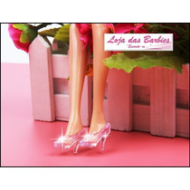 Sapato De Cristal Para Barbie * Sapatinho Cinderela Filme