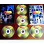 5 Dvd - Globo De Ouro (25 Programas) Roberto Carlos, Xuxa...