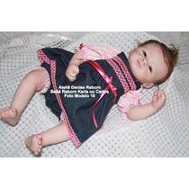Bebê Boneca Reborn Karla Ou Carlos - Parece Um Bebê Real !