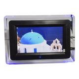 Porta Retrato Digital 7 Polegada Pen Drive Video E Controle