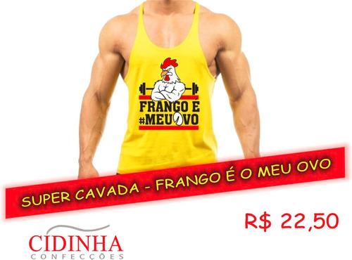 Regata Super Cavada - Frango É O Meu Ovo f5c6c17154dab