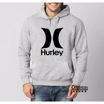 Moletom Hurley Masculino E Feminino 03,blusa De Frio Canguru