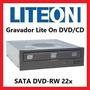 Gravador Lite On Drive Dvd-rw 22x Interno Sata Ihas122-14 Eu