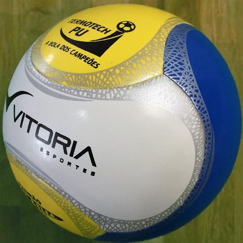 9293e48148 Bola Futsal Vitoria Oficial Max 500 Termotec Pu 6 Gomos