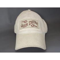 Boné John Deere Bege Original Western Wear Country