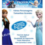Adesivo Frozen Todos Os Personagens Apenas R$ 45,00