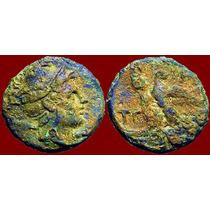 Perseus. Macedônia. Moeda Grega Bronze. Grécia Antiga