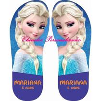 Chinelo Personalizado Infantil Frozen - Peppa.. Kit 20 Pares