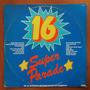 Lp 16 Super Parade Coletânea Disco De Vinil Original