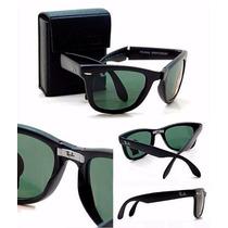 Óculos Ray Ban Wayfarer Dobrável Rb4105 Frete Gratis
