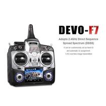 Rádio Walkera Devo F7 Fpv Devention 2.4ghz Lcd 3.5