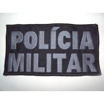 Bordado Polícia Militar