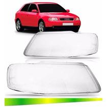 Par Lentes Do Farol Audi A3 2001 2002 2003 2004 2005 2006