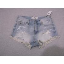 Short Hollister Feminino Tam. P Cintura 36 So R$119,00