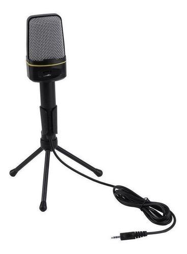 Microfone Oem Sf-920 Condensador Preto