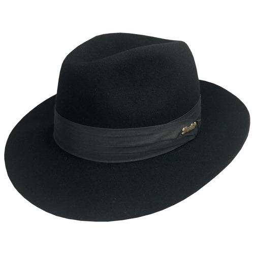 8a52f20312ad4 Chapéu Gangster Fedora Lã Pêlo Feltro Alta Qualidade + Nota