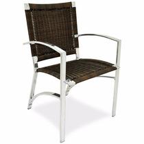 Cadeira Flora Em Fibra Sintética + Frete Grátis
