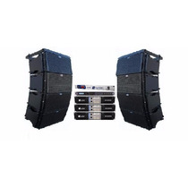 Sistema Completo Line Array 2x12+ti Snake + Machine - 4vias