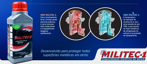 Militec 1 Condicionador Metais 200ml Bossoniautoparts