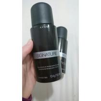 Desodorante Masculino Avon Signature! Fragrância Amadeirada!