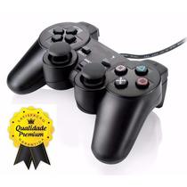 Lote 10 Controles Joystick Manete Playstation 2 Vibratório