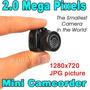 Mini Câmera Filmadora A Menor Do Mundo! Frete Grátis