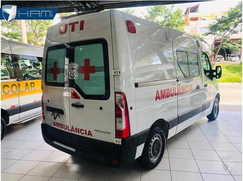 Master L1h1 Ambulancia Simples Remoção Branco 2020 Di