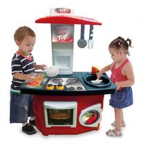 Cozinha Infantil Casinha Flor Com Fogão E Pia 4232 - Xalingo