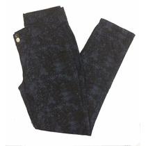 Calça Feminina Estampada Azul Tamanho Grande 44 Ao 60 1560