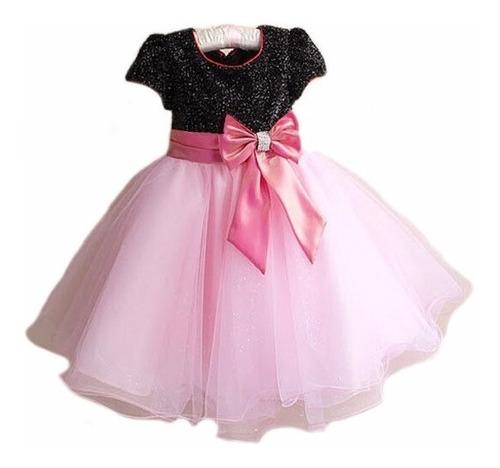46d86daa5 Vestido Festa Infantil Princesa Aniversário Dama Barbie R$104.8 ...