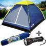 Barraca Camping Mor Iglu 3 Pessoas 2,05x1,6x1,15 (+ Brinde!)
