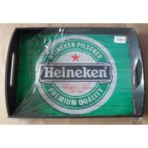 Bandeja Servir Decorar Bar Churrasqueira Copos Heineken