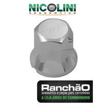 Capa De Porca Cromada Roda Caminhão Nicolini De 18mm A 33mm