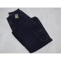 Calça Jeans Masculina Cargo - Com Bolsos Na Perna - Promoção