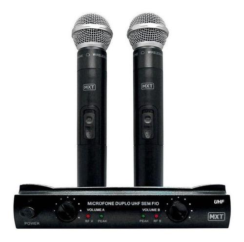 Microfones Sem Fios Mxt Uhf-302