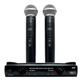 Kit De Microfones Mxt Uhf-302 Dinâmico