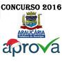 Prefeitura Araucária/pr Educador Social 2016 Aprova