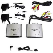 Receptor Transmissor Wireless Av Video Audio Tv Sem Fio