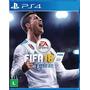 Jogo Fifa 18 2018 Playstation 4 Ps4 Português Mídia Física Original