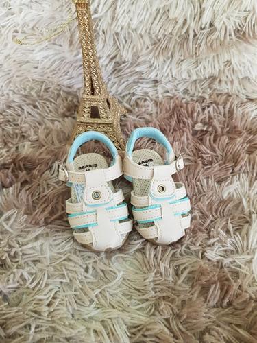 79619b3bf35 Sandalinha Infantil Masculino Baby Areia menta