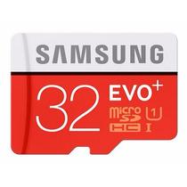 Cartão Micro Sd Sdhc Samsung Evo 32gb Classe10 80mb/s Uhs-1