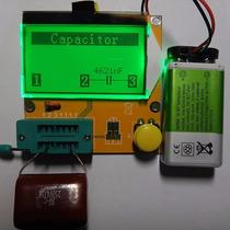 Testador De Transistor E Componentes Eletrônicos Capacímetro